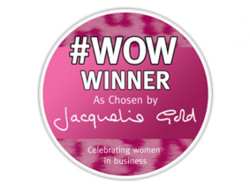 #WOW! An award from Jacqueline Gold