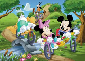 Disney bike ride