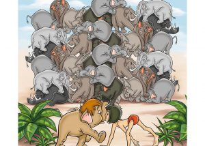 Jungle Book Crash of Elephants