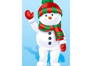 Longleat Snowman