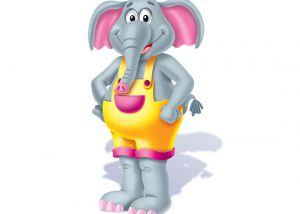 Pom Pom the elephant