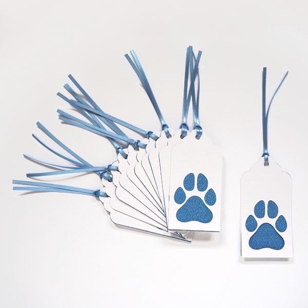 Dog tag blue full set