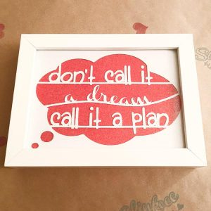 Dream Plan frame front