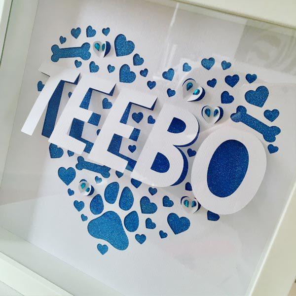 Teebo frame from side