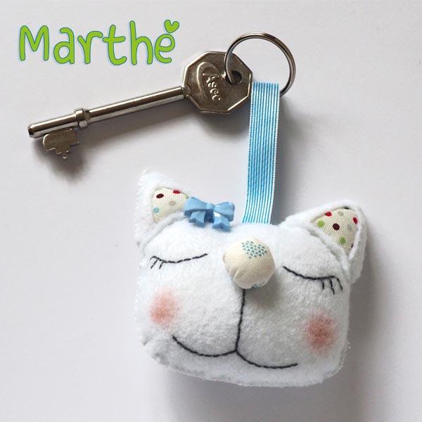 Marthe with key