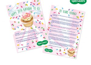 Specsavers Birthday