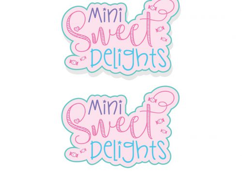 Mini Sweet Delights Logo Design